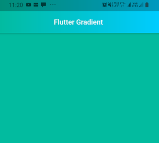 flutter appbar gradient examples