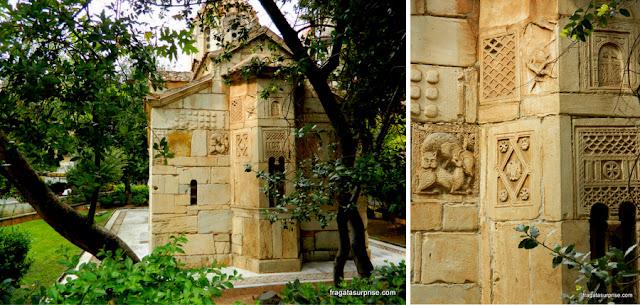 Capela de Agios Eleftherios, do Século 13, em Atenas