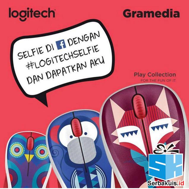 Kontes Selfie Gramedia Berhadiah 10 Logitech M238