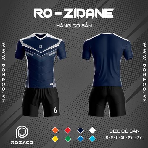 Áo Không Logo Rozaco RO-ZIDANE Màu Tím Than