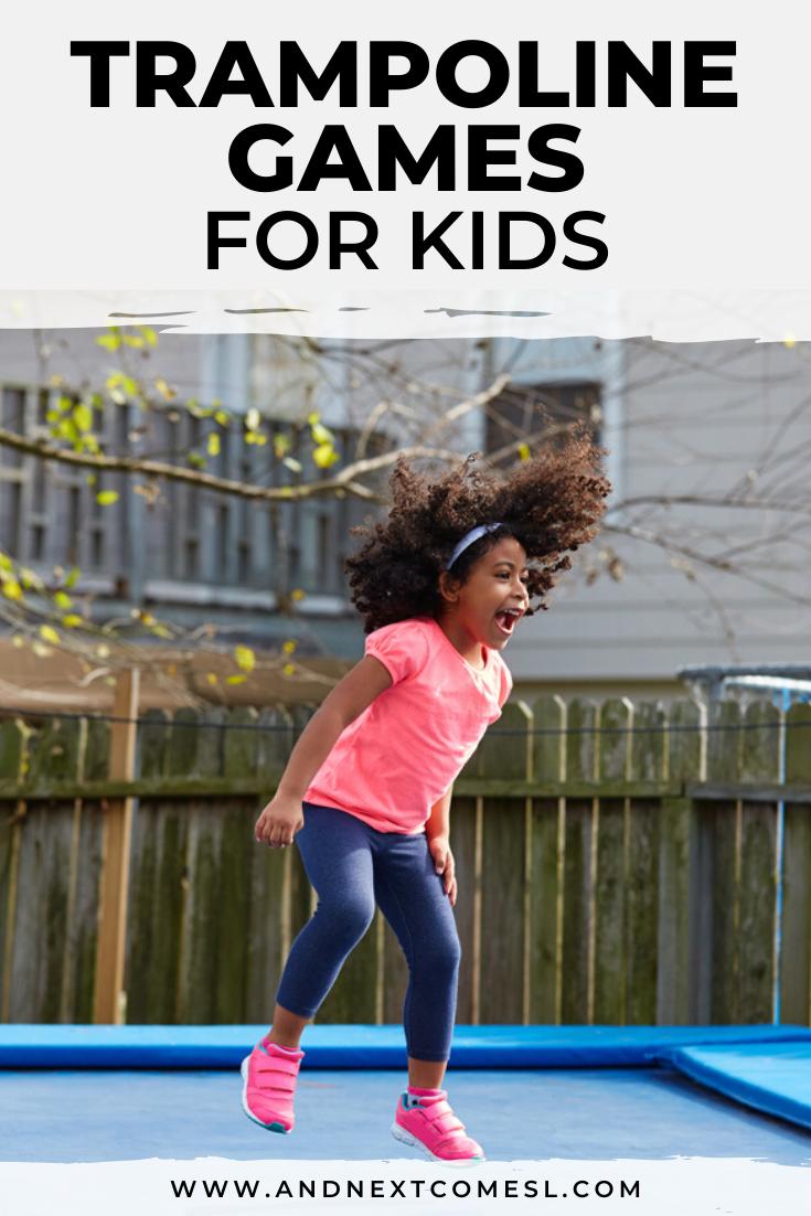 15 fun trampoline games for kids