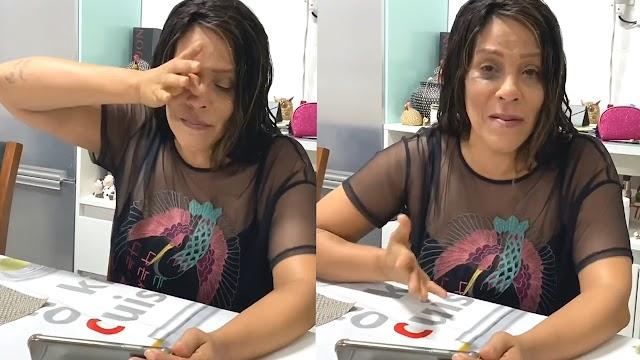 """Silvânia Aquino NÃO AGUENTA e CAI NO CHORO ao VER RESULTADO DO DVD DA CALCINHA PRETA, """"FOI FODA"""""""