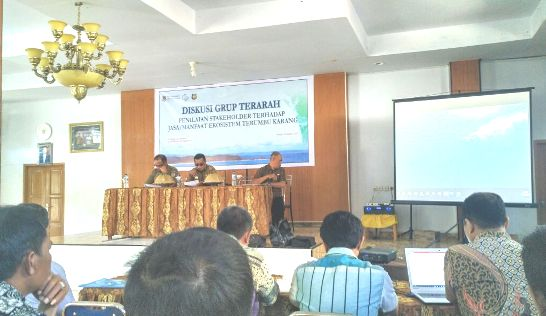 DKP Selayar, Gelar DGT Terkait Manfaat Ekosistem, Terumbu Karang