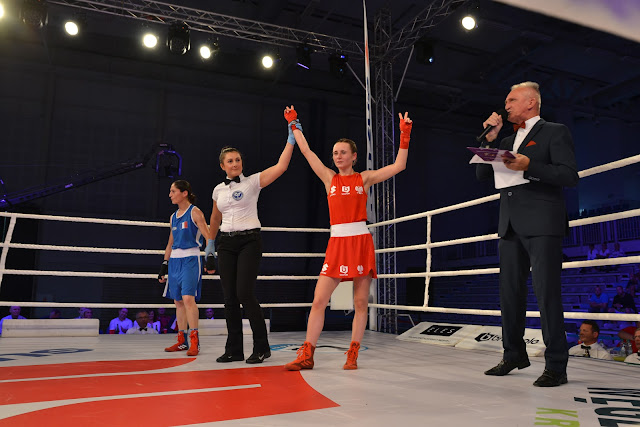 mecz, boks, Francja, Polska, Adriana Marczewska, Bytom, Karolina Michalczuk