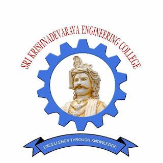 Sri Krishnadevaraya Engineering College SKDEC Ananthapur District Fees Format