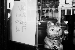 public wifi and email security