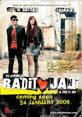 Radit dan Jani Poster