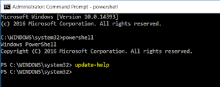 Powershell Update help Fix error