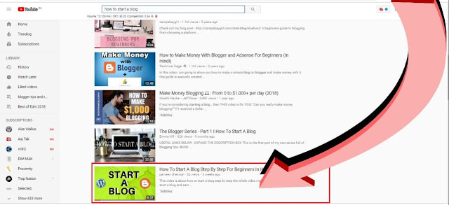 YOUTUBE SEO Result