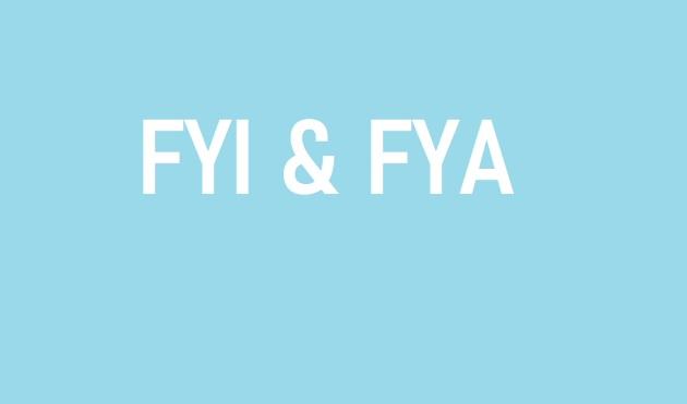 Perbedaan dan Arti Kata FYI dan FYA