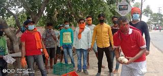 बलुआघाट में जारी है प्रवासी मजदूरों की सेवा | #NayaSabera