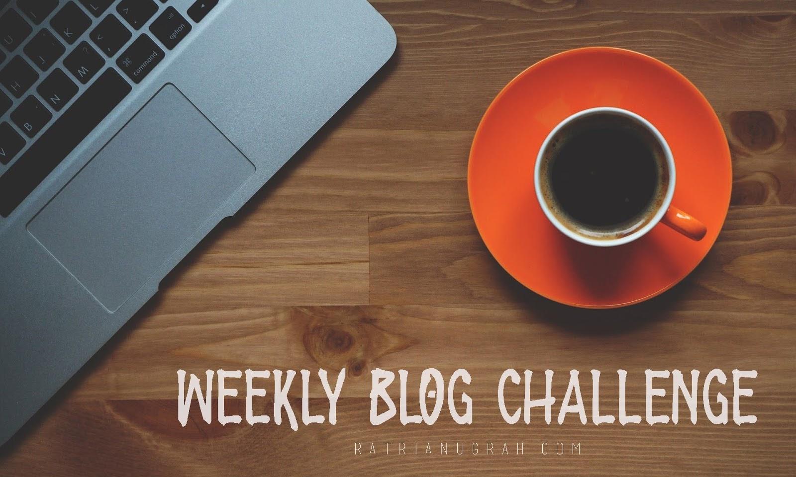 Weekly Blog Challenge