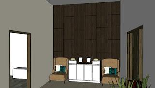 Desain Interior Rumah Tinggal Karanganyar