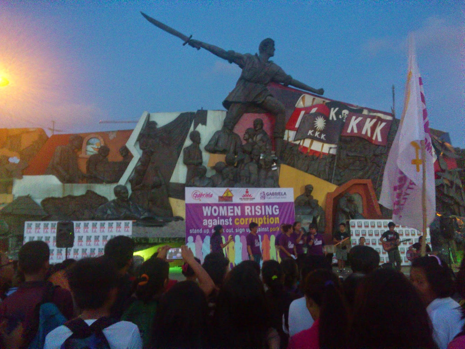 Launch of One Billion Rising 2015 Revolution