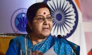 Sushma Swaraj denies reports of being made Andhra Pradesh Governor