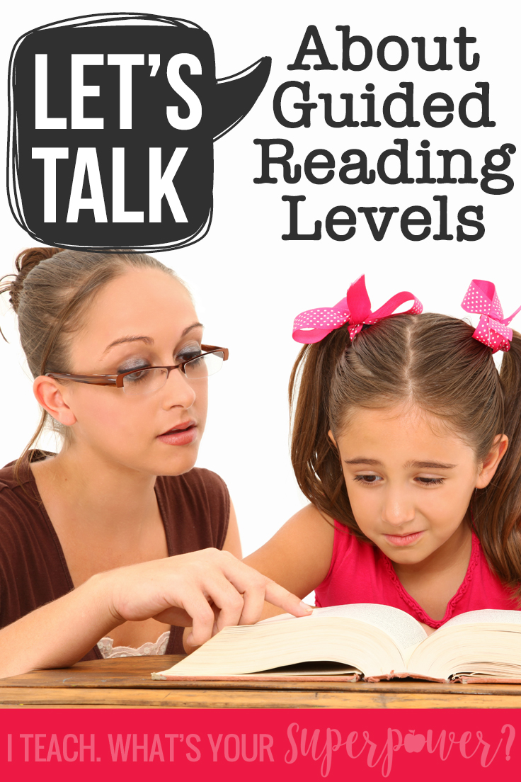 How to use a deeper understanding of guided reading levels to support student growth without defining kids by a level label.