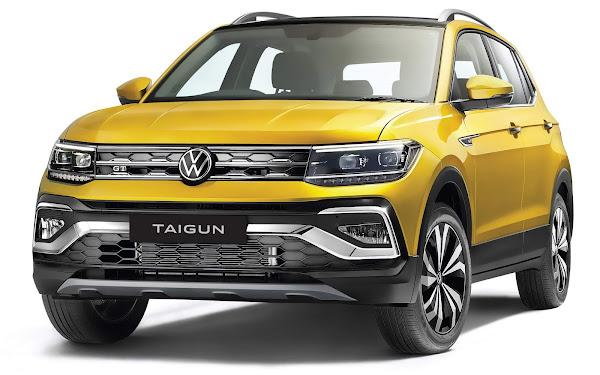 Volkswagen Taigun 2022 tem imagens oficiais reveladas na Índia