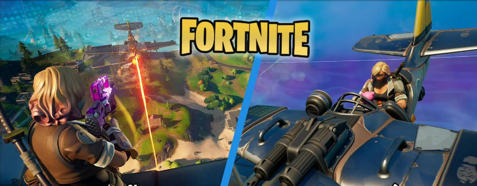 Fortnite: Deal Damage to Opponents in Vehicles - Cheat