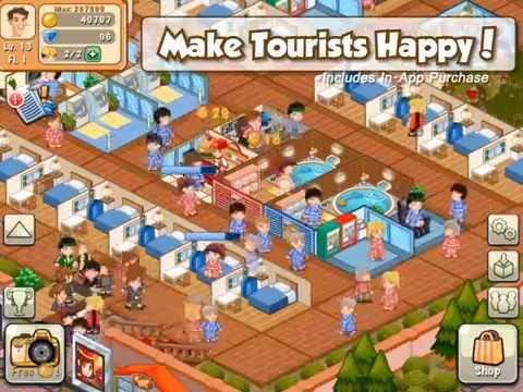 Hotel Story Resort Simulation Apk