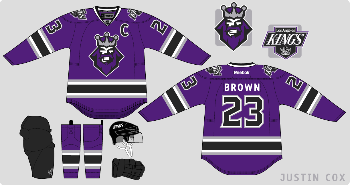 innovative design dfa73 25676 The Art of Hockey: LA Kings, not Burger King!