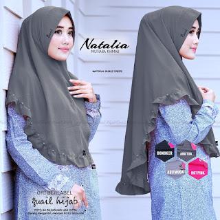 Natalia Mutiara Khimar by Quail Hijab