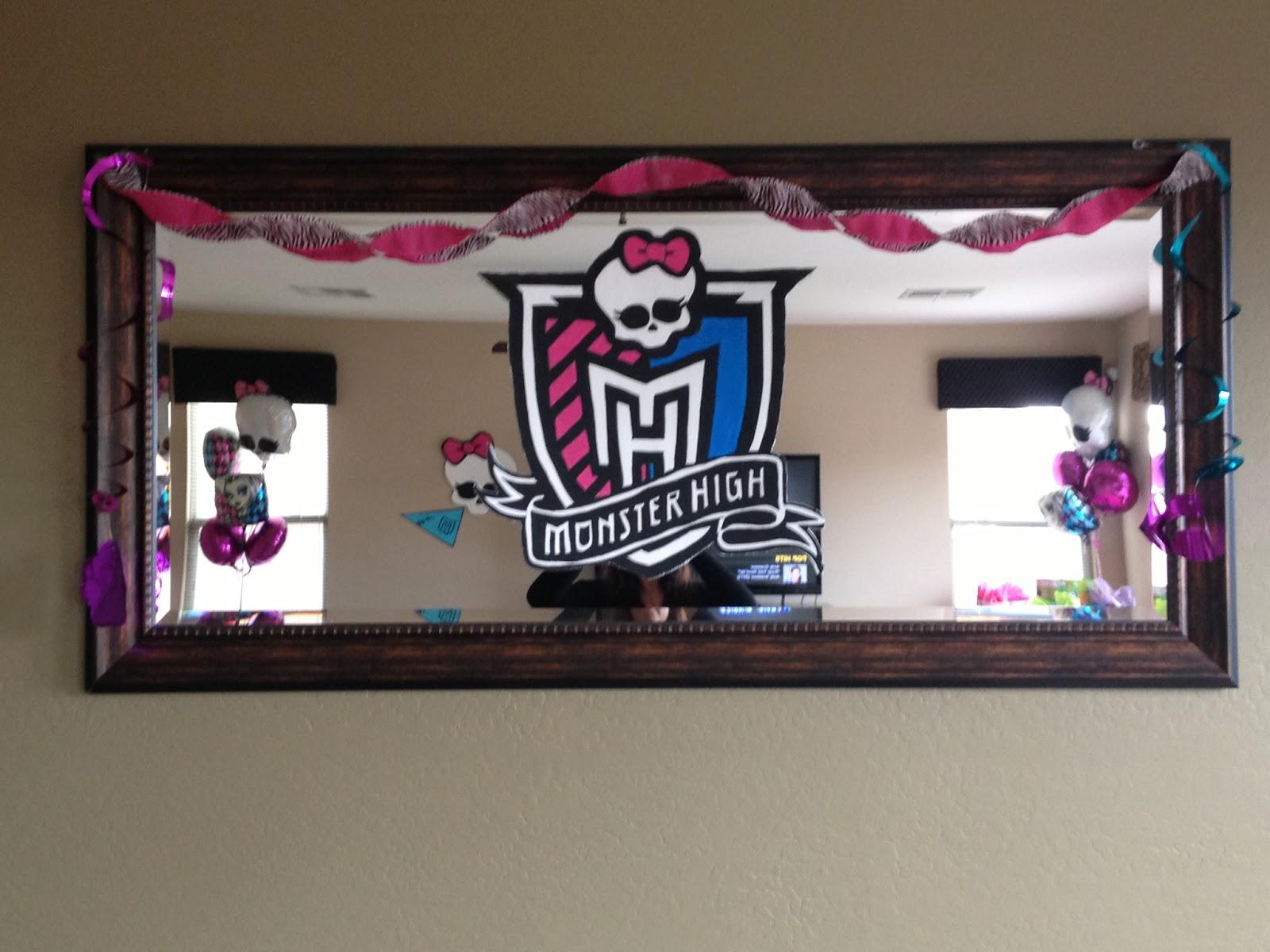 Monster High Party Homemade Ideas
