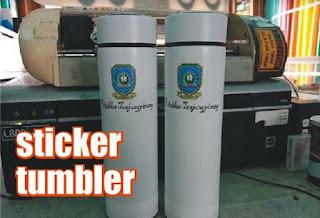 sticker tumbler dan mug