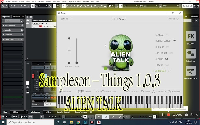 Sampleson – Things 1.0.3 - ALIEN TALK -(STANDALONE, VSTi, AUi) [WIN.OSX x86 x64]