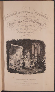 Title page to Grimm 1826