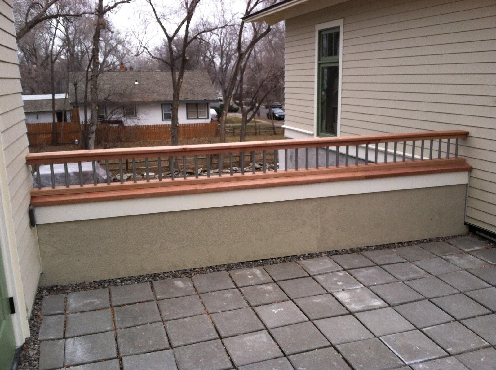 Mr. Blanding's Dream House: Roof Deck Railings