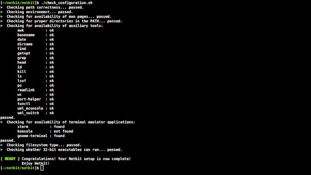 Como instalar y configurar Netkit en Linux