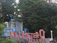 The zero Kilometre Monument, Aceh Visit