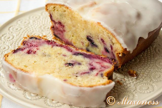 Нежный кекс с ягодами от Нины Тарасовой