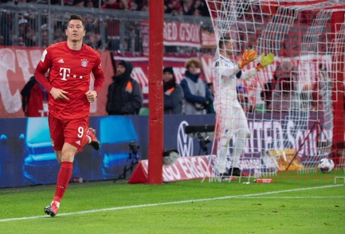 Lewandowski breaks Bundesliga scoring record with a brace against Freiburg