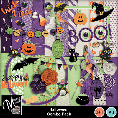Halloween combo pack