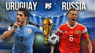 Uruguay v Russia Live Streaming online Today 25.06.2018 World Cup Russia 2018