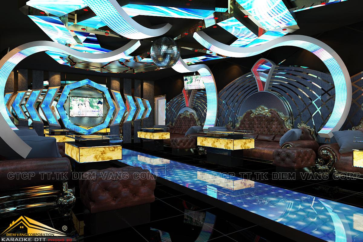 Thiết kế phòng karaoke 3D Ảnh Full chất lượng cao 32