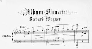 Eine Sonate für das Album von Frau M. W.