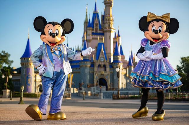 Walt Disney World Resort comemora 50 anos em celebração Mágica