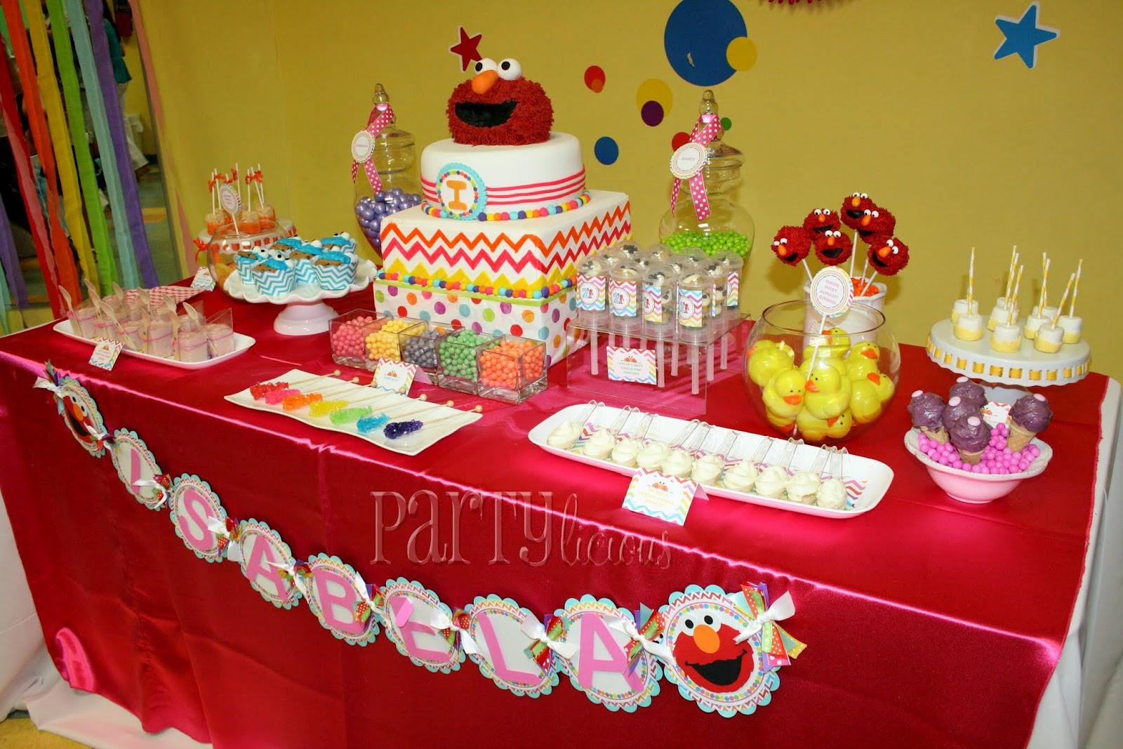 Partylicious Events Pr Rainbow Elmo Birthday