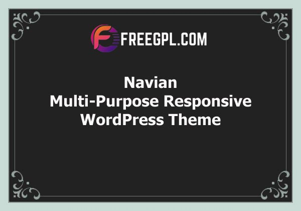 Navian - Multi-Purpose Responsive WordPress Theme Free Download