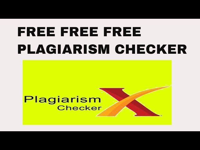 free plagiarism software download