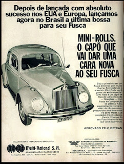 propaganda Multi - National S. A. - 1973, anos 70, carros década de 70, Oswaldo Hernandez,