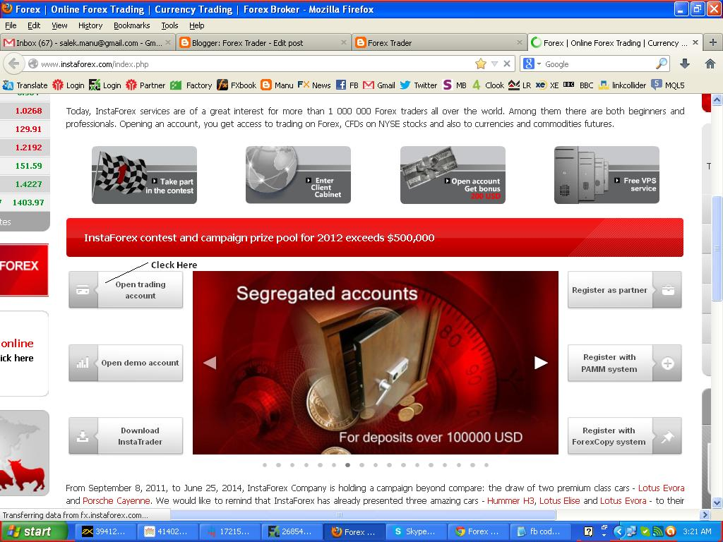 Micro account forex