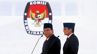 Survei Pilpres Terbaru, Suara Millenial Lari ke Prabowo-Sandi, Posisi Jokowi-Makruf Mengkhawatirkan