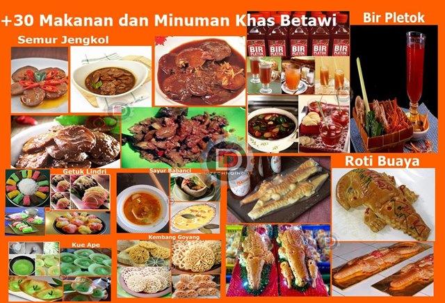 Makanan Dan Minuman Khas Betawi Provinsi Dki Jakarta Dtechnoindo