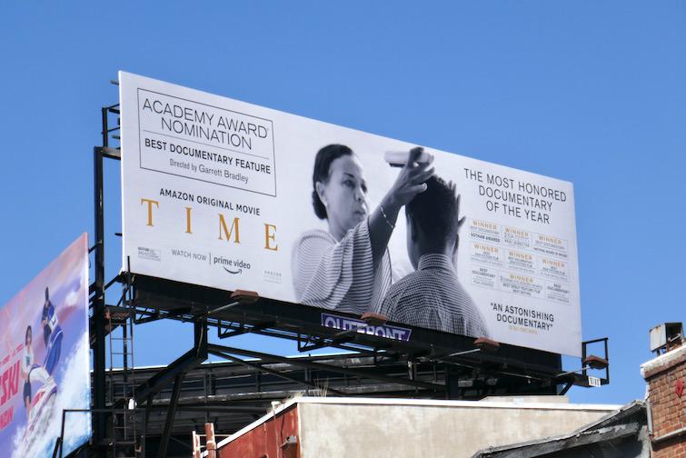 Time Oscar nominee billboard