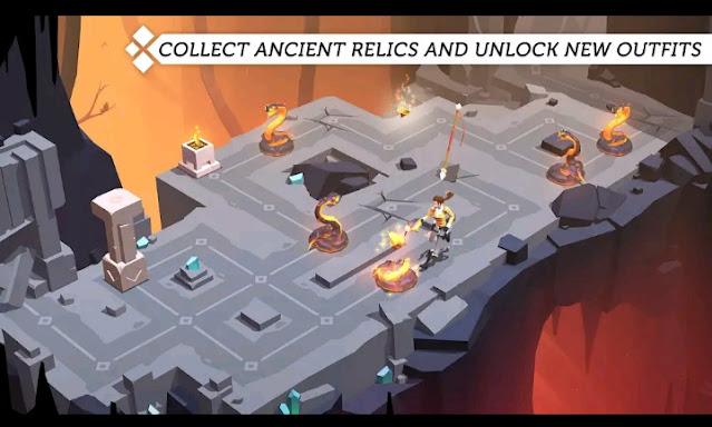 تحميل لعبة المدفوعة Lara croft go مجانا للأندرويد اخر اصدار 2021