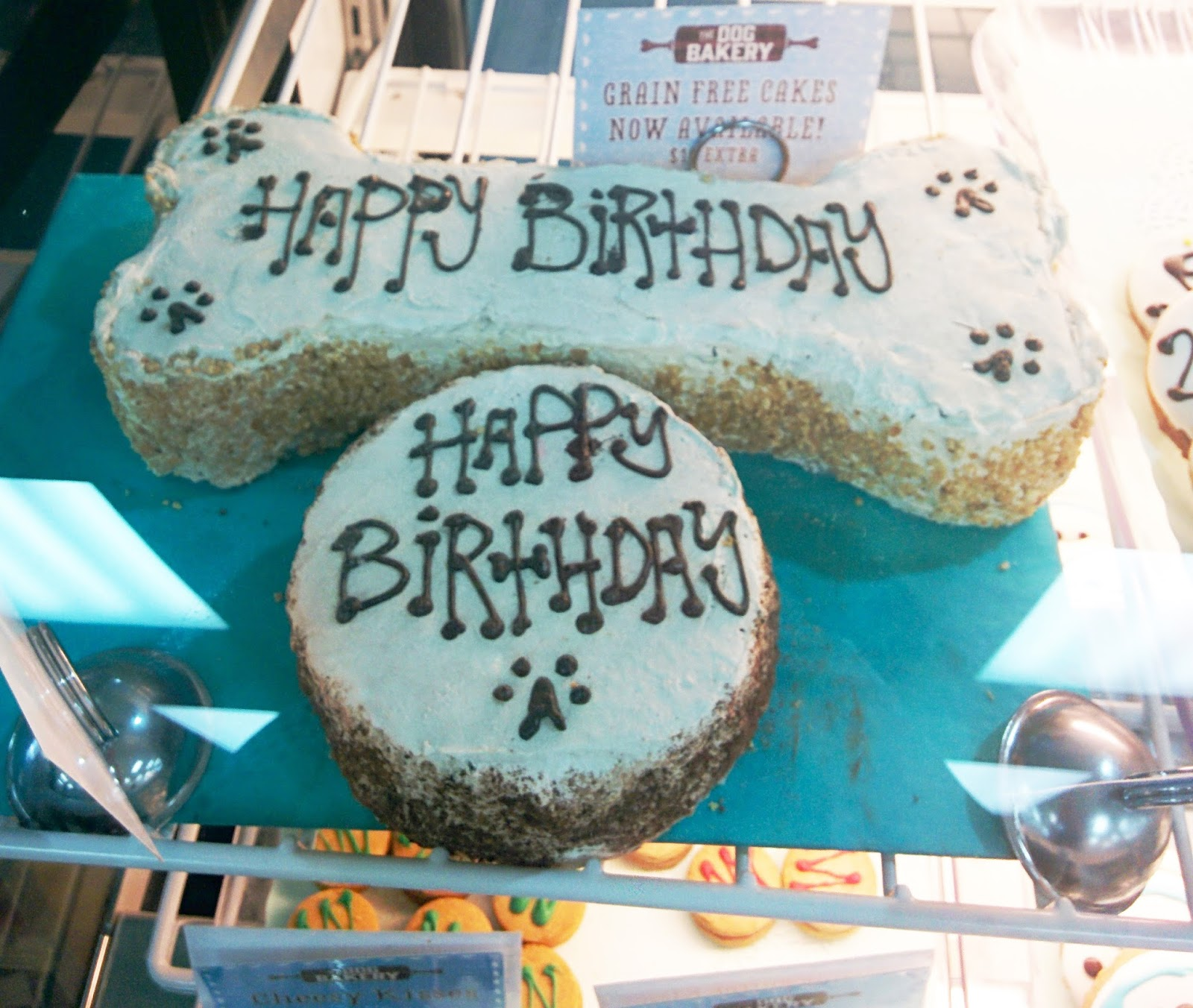 Dog Birthday Cakes And Cookies At The Bakery
