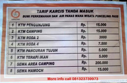 Daftar Harga Tiket Masuk Punceling Pass Ciwidey Bandung